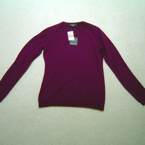NWT Charter Club Luxury 100% Cashmere Sweater XS
